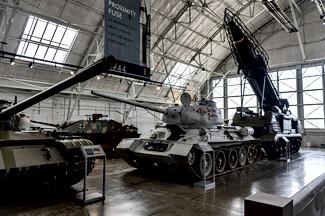 KMDB (Main Design Bureau) T-34/85 and R-11M with 8U218 TEL (SS-1b Scud-A) Ballistic Missile System