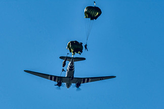 WW II Parachute Demonstration Team