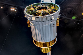 Boeing Inertial Upper Stage Mock-up