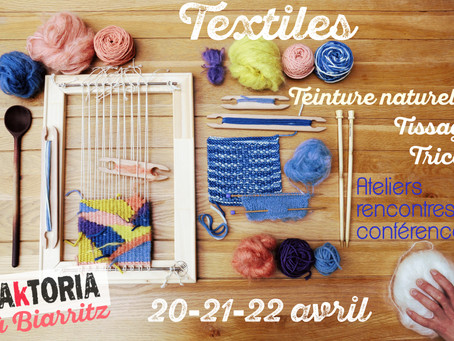 "Week-end ""Textile Addict""- saison 1 épisode 1- BIS !"