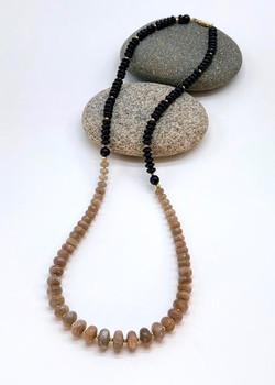 #1147 Chocolate moonstone & only $255
