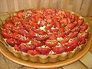 tarte aux fraises du jardin
