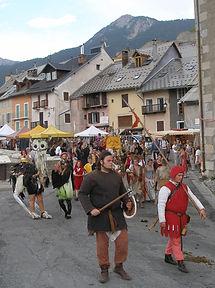 fête médiévale juillet briançon