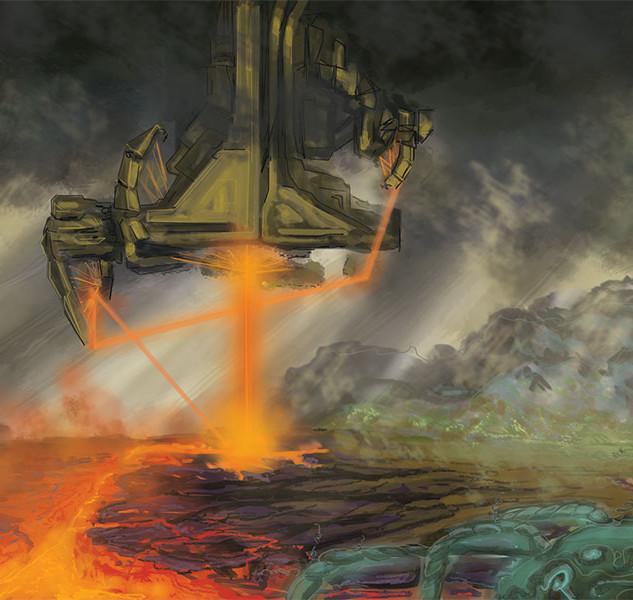 Terraformage Machine