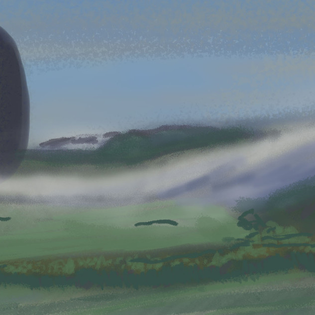 Color study, Arrival