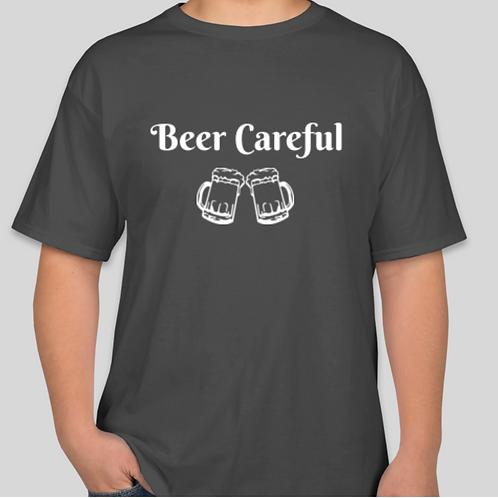 Men's Beer Careful Tee