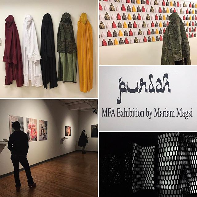 Purdah Thesis Exhibition