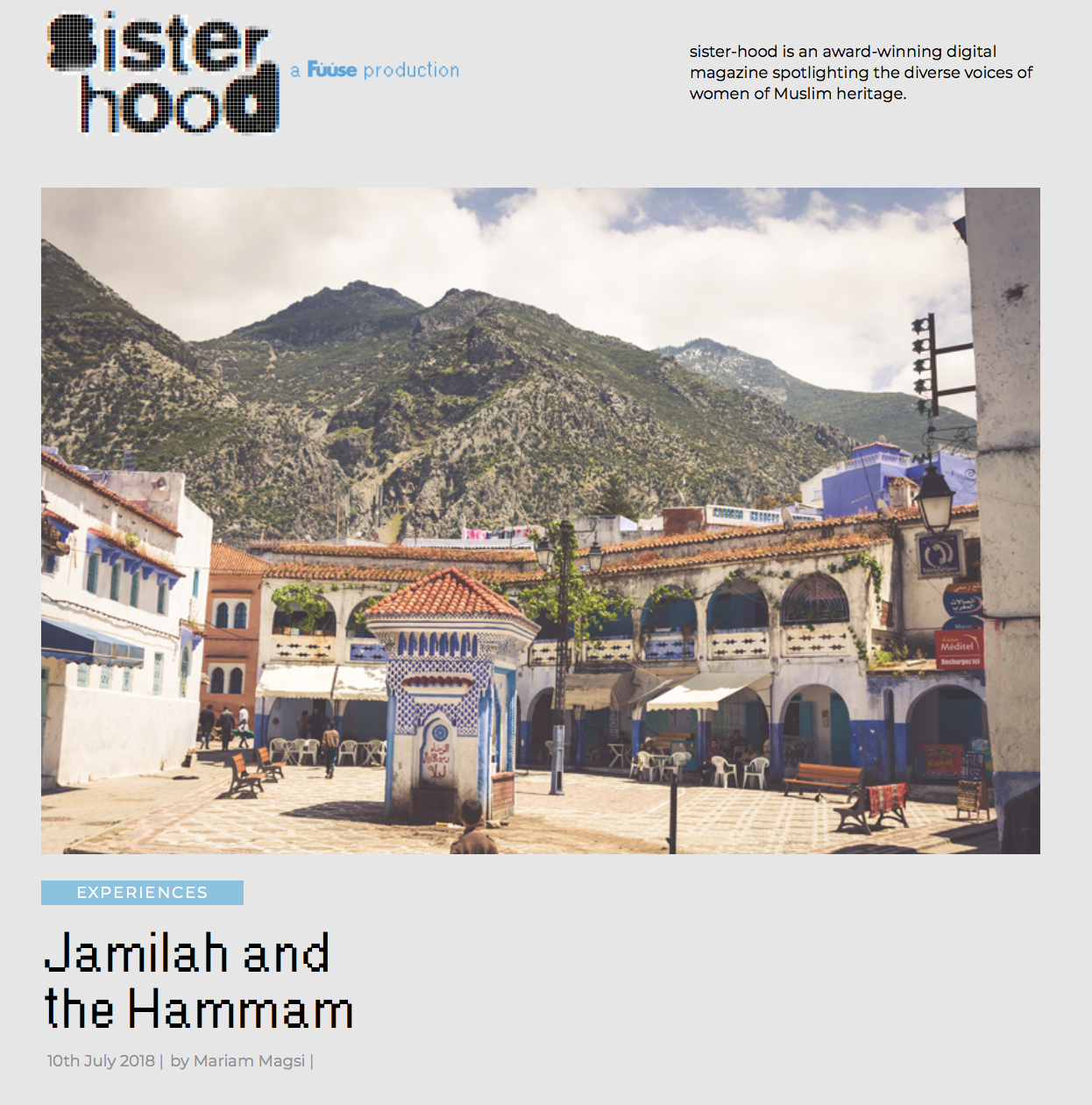 Jamilah and the Hammam
