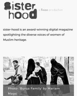 Published in Sisterhood