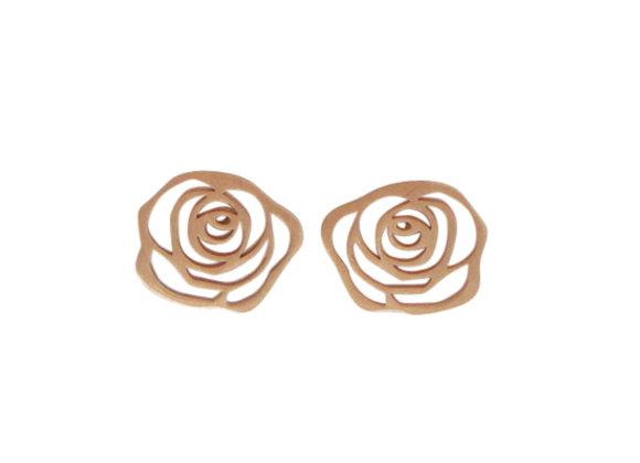ROSA G : : brincos de ouro rosé 18K