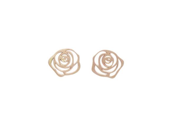 ROSA : : brincos de ouro rosé 18K
