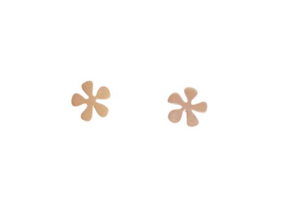 PETIT MATISSE : : brincos de ouro rosé 18K