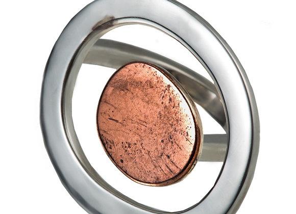 ÓRBITA : : anel de prata 925