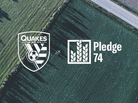 Earthquakes Launch Pledge 74 Community Initiative