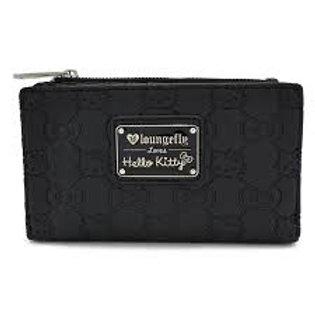 Hello Kitty - Black Bifold Wallet