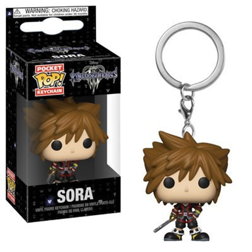 Kingdom Hearts III - Sora Pocket Pop! Keychain