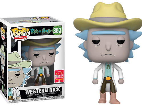 Rick and Morty - Western Rick SDCC 2018 US Exclusive Pop! Vinyl
