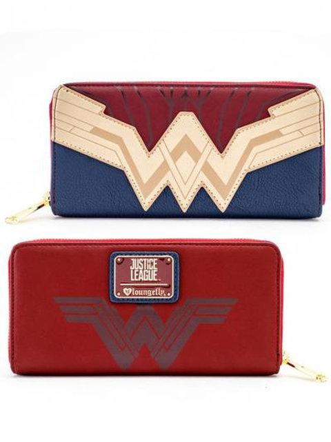 Wonder Woman - Zip-Around Wallet