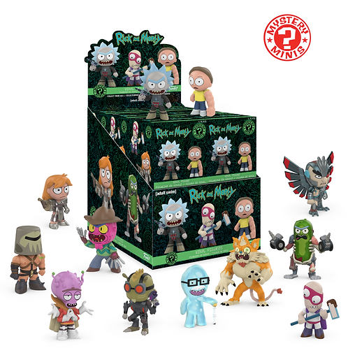 Rick and Morty - Mystery Mini's