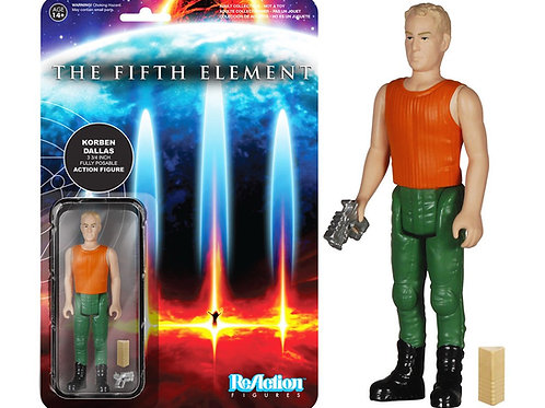 Fifth Element Korben Dallas ReAction Figure