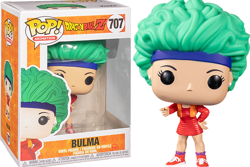 Dragon Ball Z - Bulma in Red Outfit Pop! Vinyl
