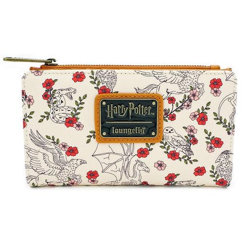 Harry Potter Floral Wallet