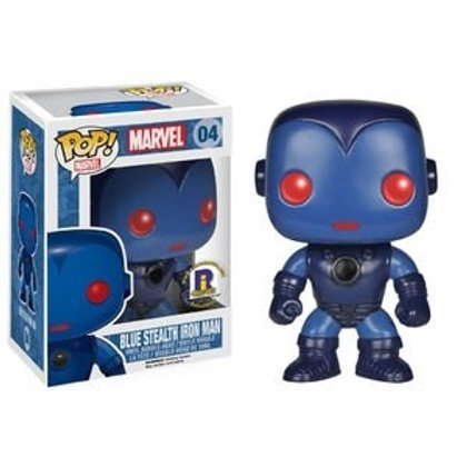 Marvel - Iron Man (Blue Stealth) Pop! Vinyl