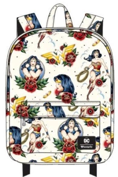 Wonder Woman - Tattoo Print Backpack