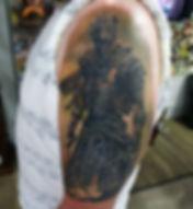 Dark Souls Gaming tattoo by Adam Cooley
