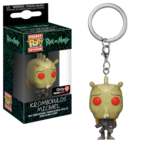 Rick and Morty – Krombopulos Michael Pop! Keychain