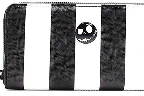 The Nightmare Before Christmas - Black & White Zip-Around Wallet