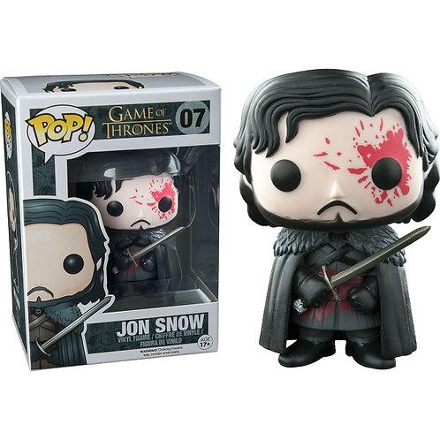 Jon Snow Bloody Pop! Vinyl Figure