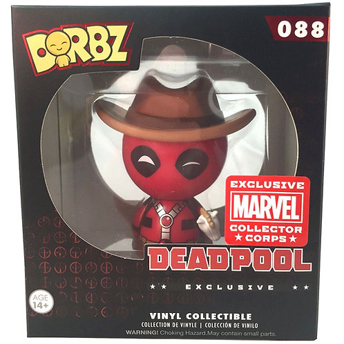 FUNKO Dorbz Marvel Deadpool (Cowboy) #088 EXCLUSIVE