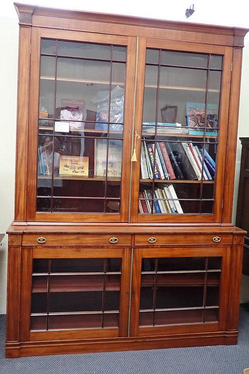 VICTORIAN LIBARY BOOKCASE