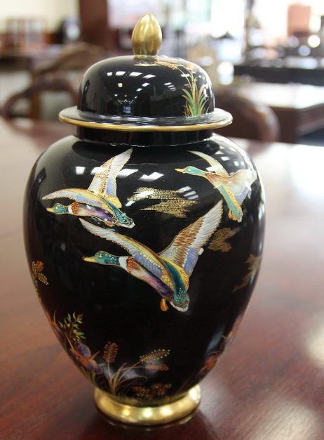 carlton ware vase