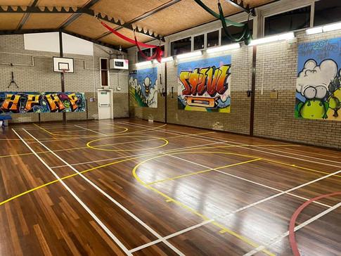 Newly refurbed Sports Hall (Dec 2019)