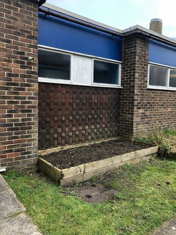 Garden Renovations Began Feb 2019
