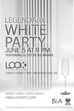 The Legendary All White Event Returns To Look!