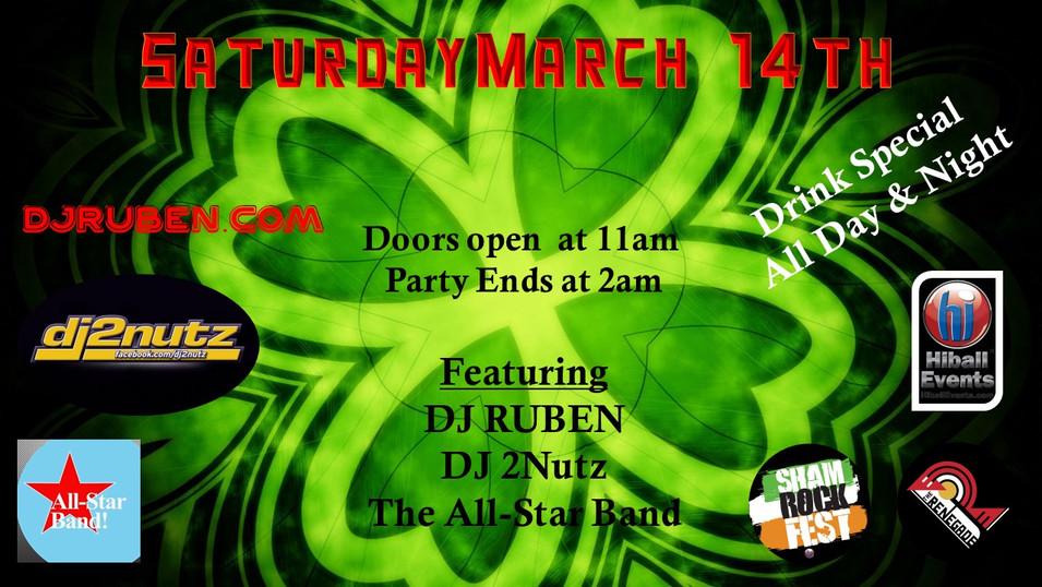 Party Saturday March 14 - Renegade!