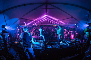 dj party tent