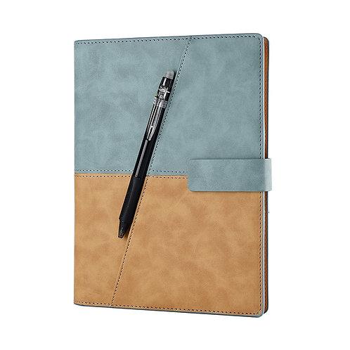Leather Spiral A5 Notebook Smart Reusable Erasable Notepad Office Supplies