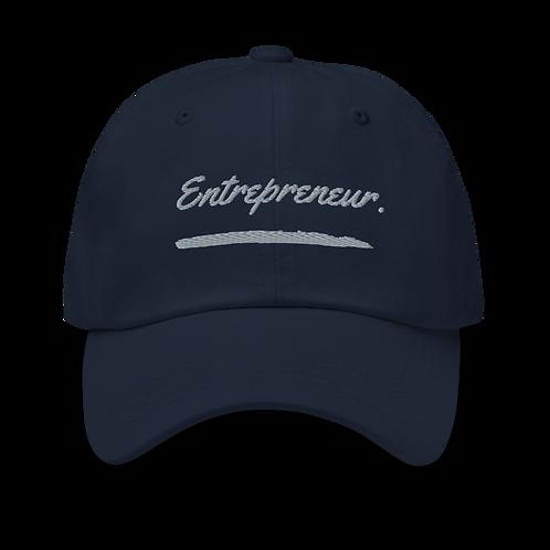 Entrepreneur. Dad hat