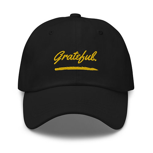 Grateful. Dad hat
