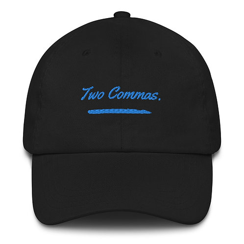 Two Commas. Dad hat