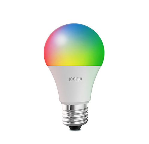 Jeeo Smart Wi-Fi LED Color Light Bulb
