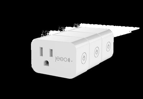 Jeeo Smart Wi-Fi Plug+ (3-pack)