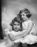 Elizabeth and Margaret Windsor