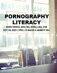 Pornography Literacy -Recorded