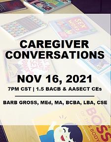 Caregiver Conversations - Live!