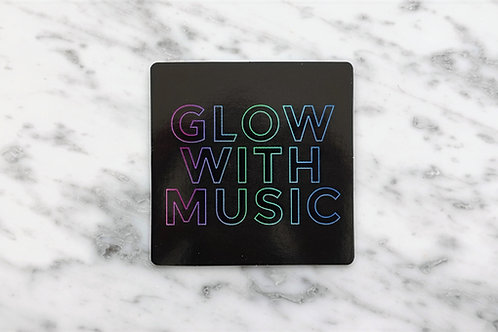 Glow With Music Sticker